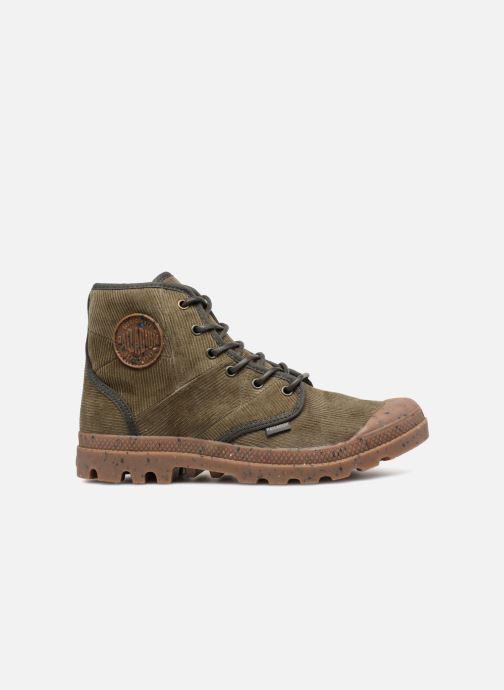 Bottines et boots Palladium Pampa Hi Cord M Vert vue derrière