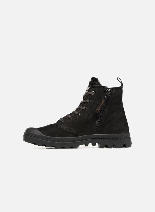Bottines et boots Palladium Pampa Hi Zip W Noir vue face