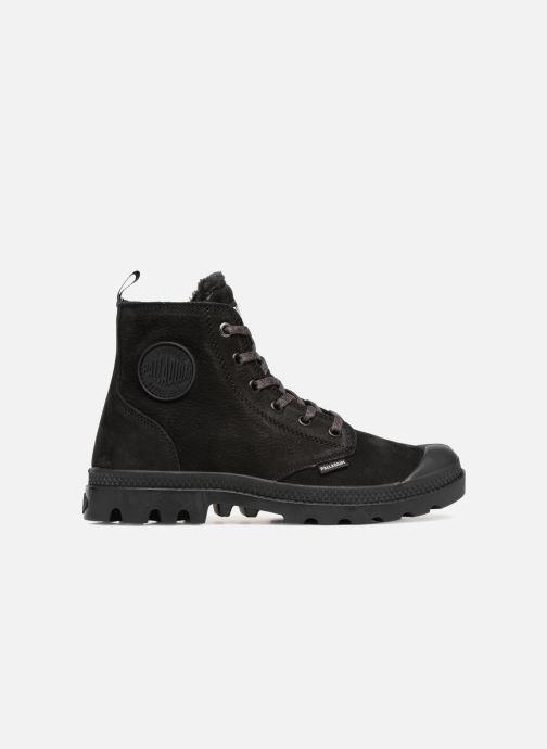Bottines et boots Palladium Pampa Hi Zip W Noir vue derrière