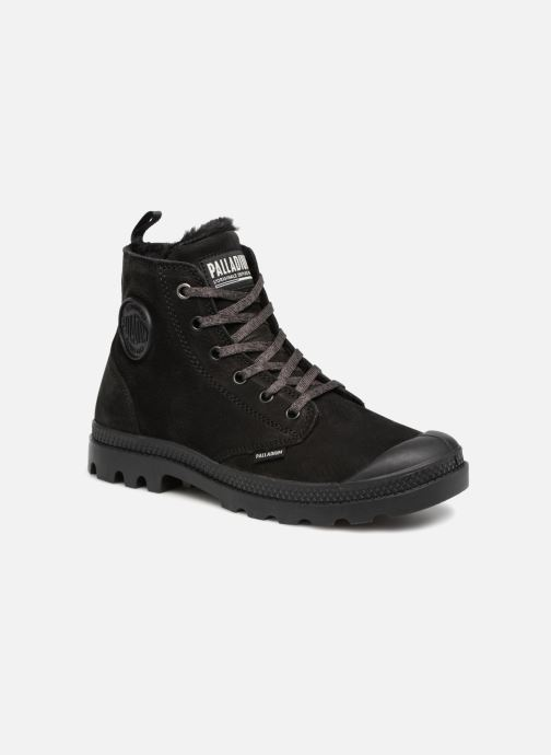 Bottines et boots Palladium Pampa Hi Zip W Noir vue détail/paire
