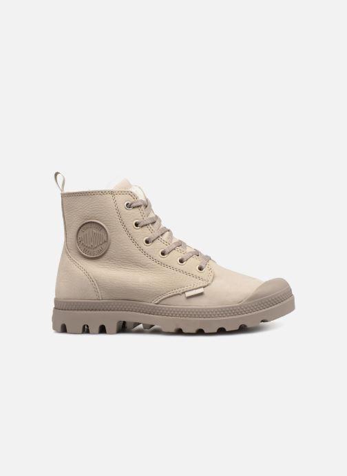 Bottines et boots Palladium Pampa Hi Zip W Beige vue derrière
