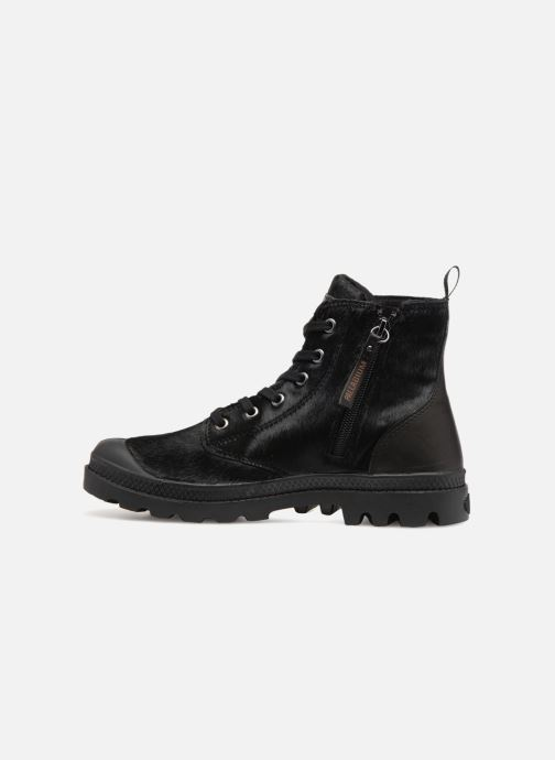 Ankle boots Palladium Pampa Hi Zip Pony W Black front view