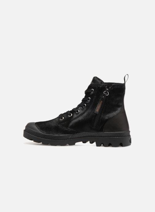 Ankle boots Palladium Pampa Hi Zip Pony W Black front view