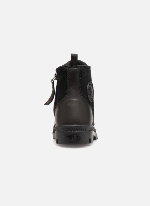 Bottines et boots Palladium Pampa Hi Zip Pony W Noir vue droite