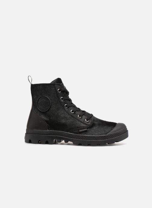 Ankle boots Palladium Pampa Hi Zip Pony W Black back view