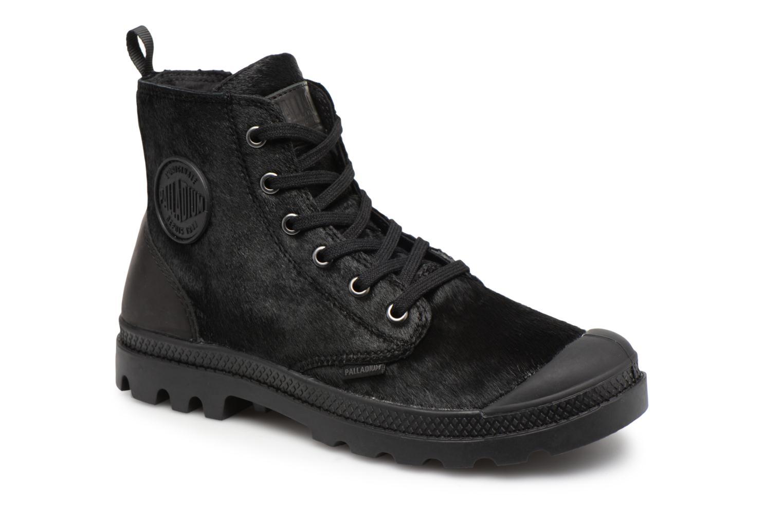Palladium W Pampa Hi Zip Pony W Palladium (Black) - Ankle boots chez (339451) 522049
