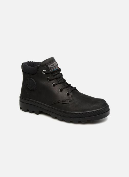 Ankelstøvler Palladium Pallabosse Low Cuff W Sort detaljeret billede af skoene