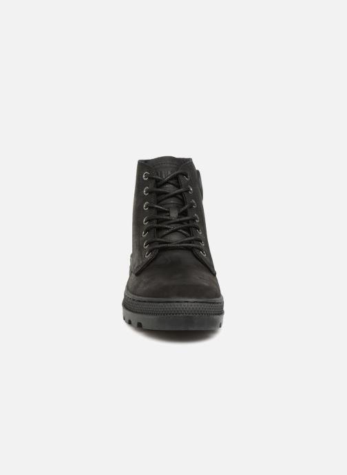 Stiefeletten & Boots Palladium Pallbosse Mid schwarz schuhe getragen