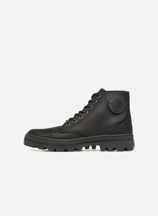 Bottines et boots Palladium Pallbosse Mid Noir vue face