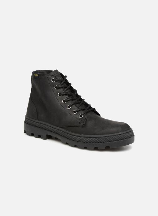 Bottines et boots Palladium Pallbosse Mid Noir vue détail/paire