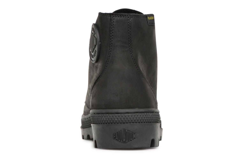 Bottines et boots Palladium Pallbosse Mid Noir vue droite