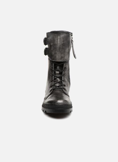 Bottines et boots Palladium Pallabosse Peloton L W Noir vue portées chaussures