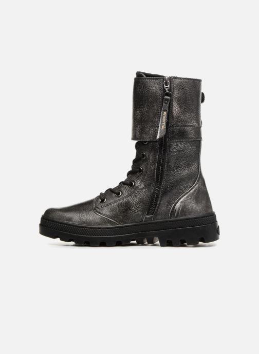 Bottines et boots Palladium Pallabosse Peloton L W Noir vue face