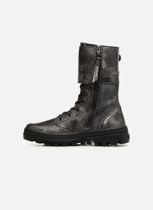 Boots en enkellaarsjes Palladium Pallabosse Peloton L W Zwart voorkant