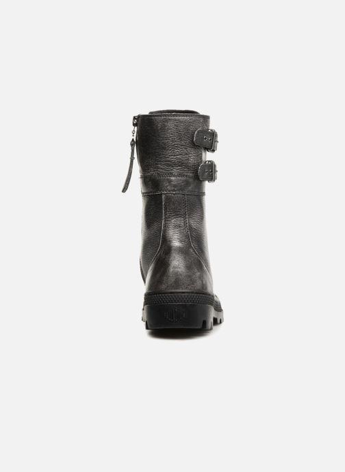 Boots en enkellaarsjes Palladium Pallabosse Peloton L W Zwart rechts