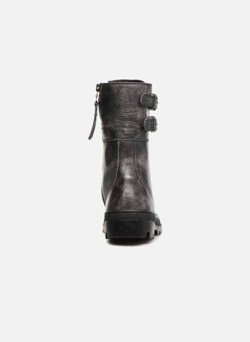 Bottines et boots Palladium Pallabosse Peloton L W Noir vue droite
