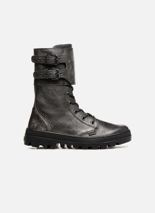 Boots en enkellaarsjes Palladium Pallabosse Peloton L W Zwart achterkant