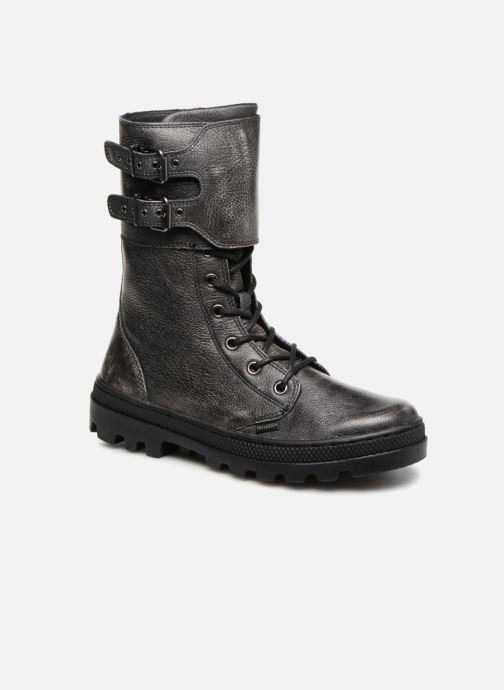 Boots en enkellaarsjes Palladium Pallabosse Peloton L W Zwart detail