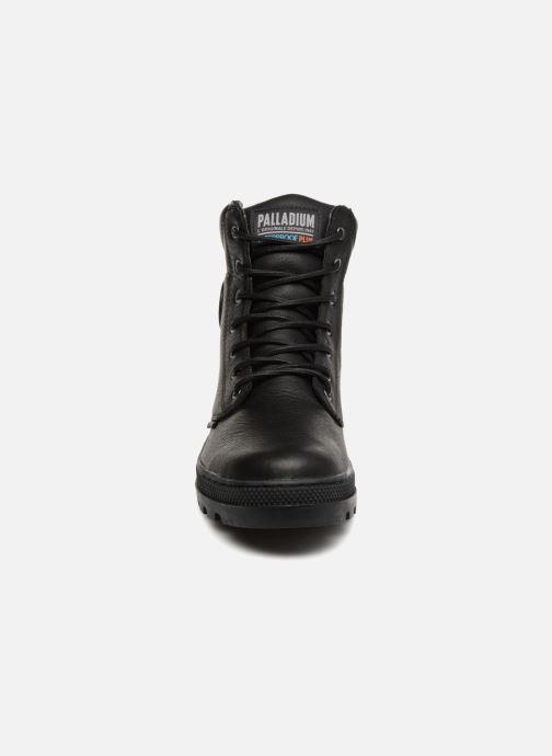 Bottines et boots Palladium Pallabosse Sc Wp  M Noir vue portées chaussures