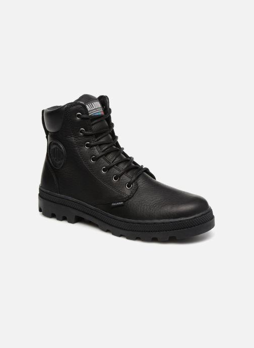 Bottines et boots Palladium Pallabosse Sc Wp  M Noir vue détail/paire