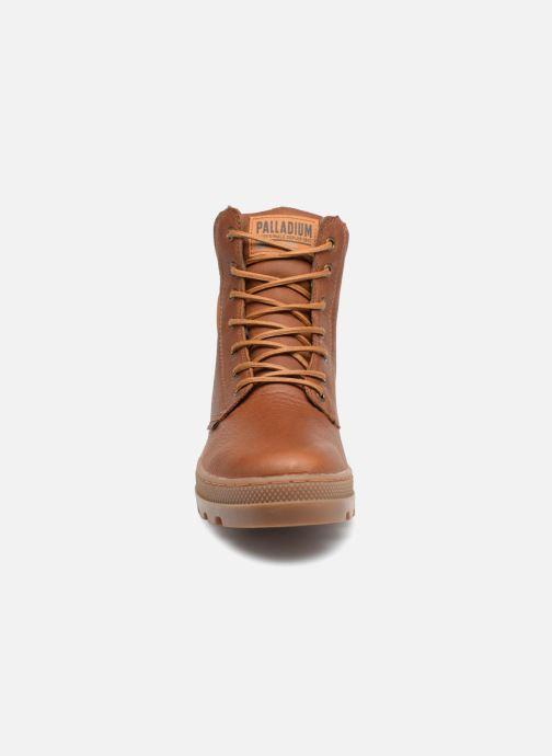 Bottines et boots Palladium Pallabosse Sc Wp  M Marron vue portées chaussures