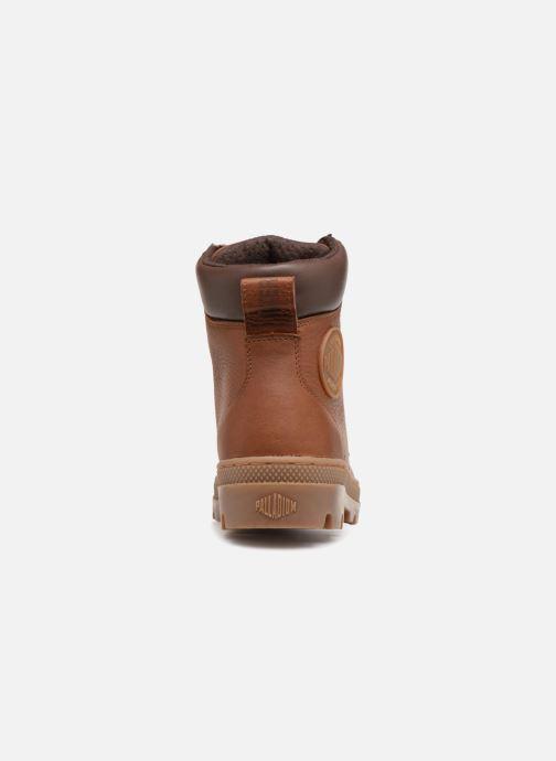 Bottines et boots Palladium Pallabosse Sc Wp  M Marron vue droite