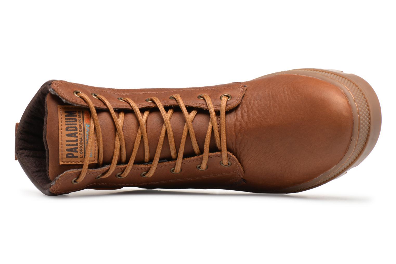 Stiefeletten & Boots Palladium Pallabosse Sc Wp  M braun ansicht von links