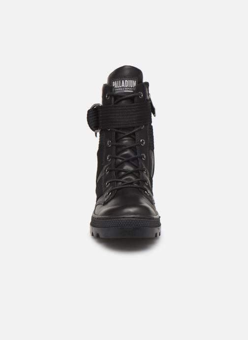 Ankle boots Palladium Pallabosse Tact St L W Black model view
