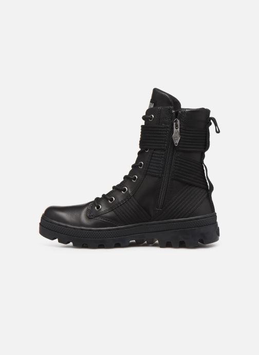Ankle boots Palladium Pallabosse Tact St L W Black front view