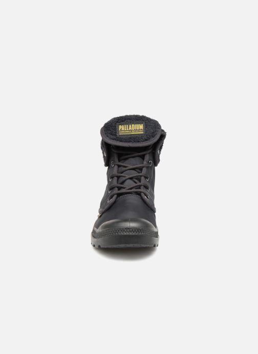 Bottines et boots Palladium Pallabrousse Baggy Tx U Noir vue portées chaussures