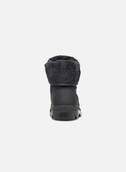 Bottines et boots Palladium Pallabrousse Baggy Tx U Noir vue droite