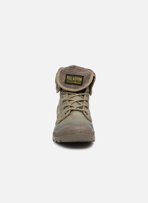Bottines et boots Palladium Pallabrousse Baggy Tx U Vert vue portées chaussures