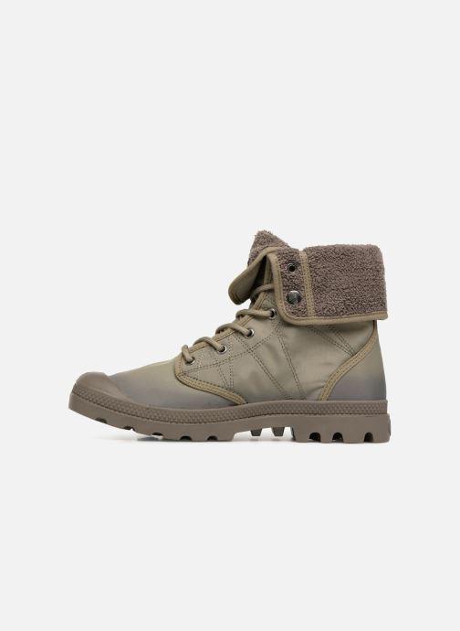Bottines et boots Palladium Pallabrousse Baggy Tx U Vert vue face