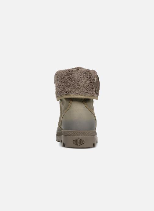 Bottines et boots Palladium Pallabrousse Baggy Tx U Vert vue droite