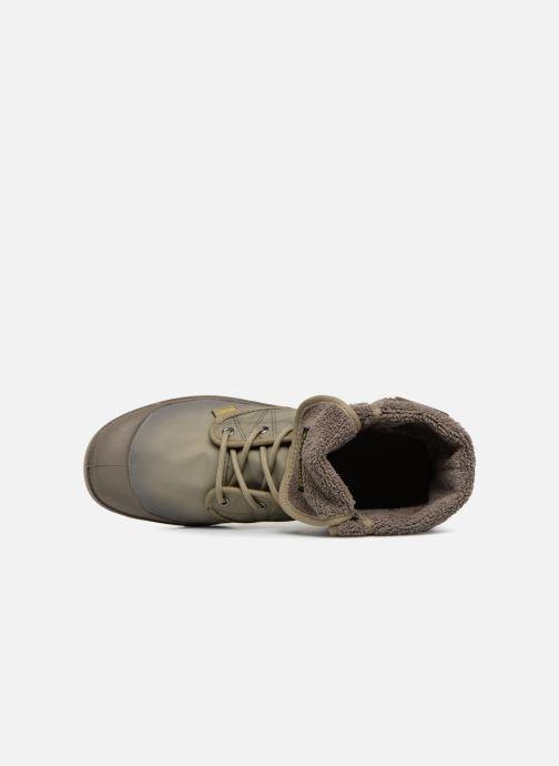 Bottines et boots Palladium Pallabrousse Baggy Tx U Vert vue gauche