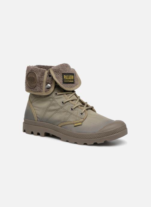 Bottines et boots Palladium Pallabrousse Baggy Tx U Vert vue détail/paire