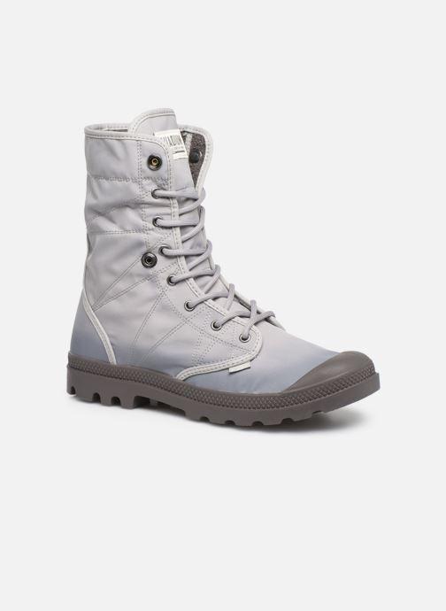 Bottines et boots Palladium Pallabrousse Baggy Tx U Gris vue 3/4