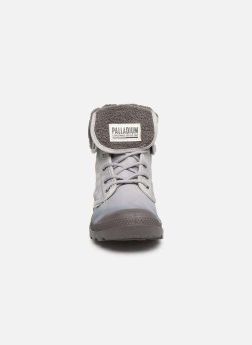 Bottines et boots Palladium Pallabrousse Baggy Tx U Gris vue portées chaussures