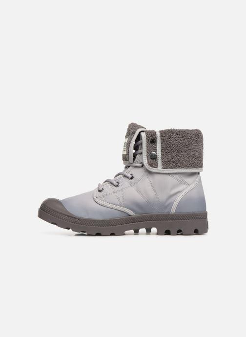 Bottines et boots Palladium Pallabrousse Baggy Tx U Gris vue face