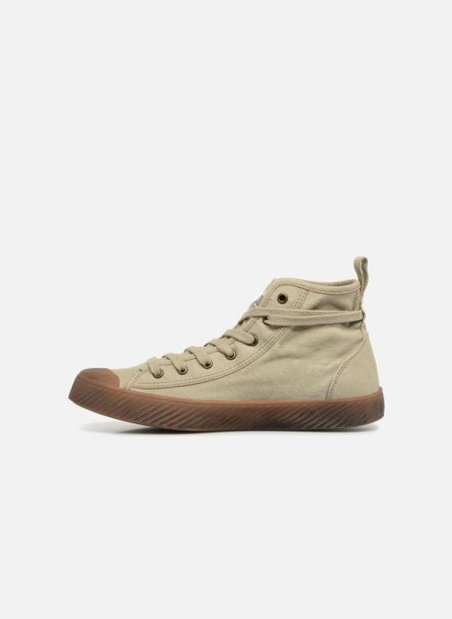 Sneakers Palladium Pallaphoenix Mid Vtg U Grigio immagine frontale