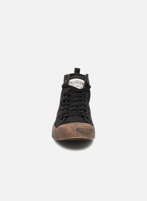 Baskets Palladium Pallaphoenix Mid Vtg U Noir vue portées chaussures