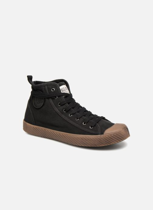 Baskets Palladium Pallaphoenix Mid Vtg U Noir vue détail/paire
