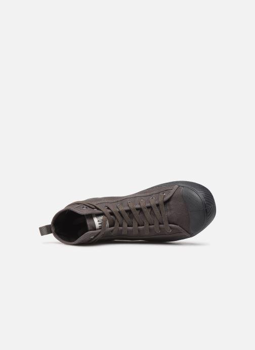Sneaker Palladium Pallaphoenix Mid Vtg U grau ansicht von links