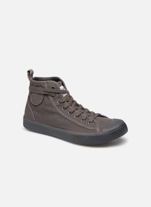Sneakers Palladium Pallaphoenix Mid Vtg U Grå detaljeret billede af skoene