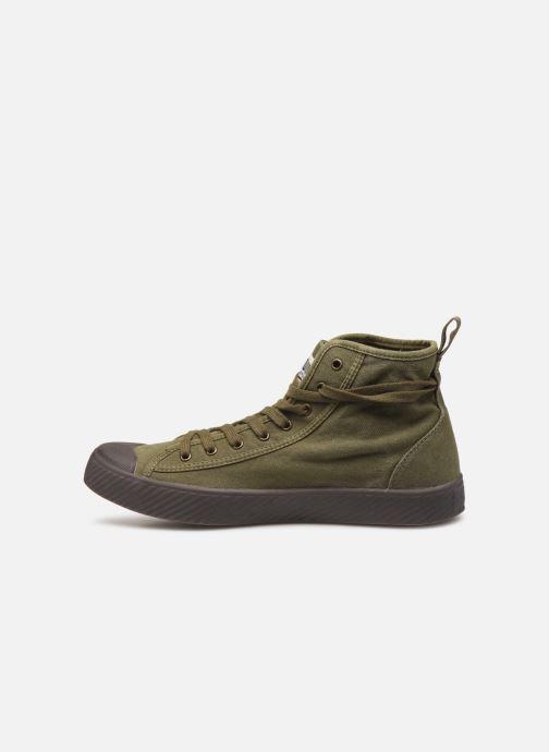 Sneakers Palladium Pallaphoenix Mid Vtg U Verde immagine frontale