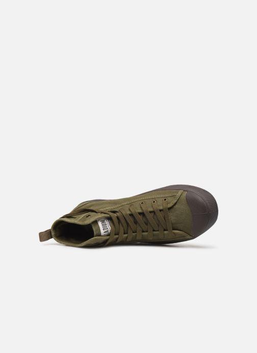 Sneakers Palladium Pallaphoenix Mid Vtg U Verde immagine sinistra
