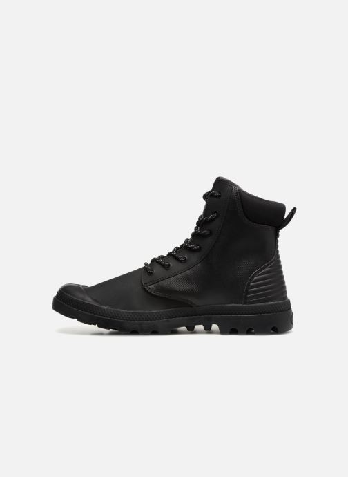 Boots en enkellaarsjes Palladium Pampa Sport Cuff WPR Zwart voorkant