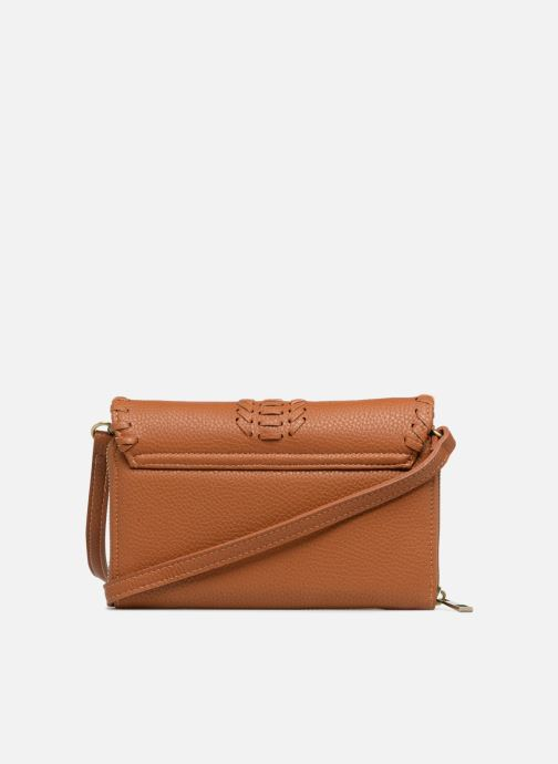 Sacs à main Street Level Brown mini purse Marron vue face