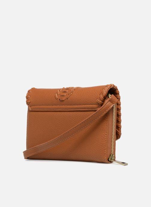 Sacs à main Street Level Brown mini purse Marron vue droite
