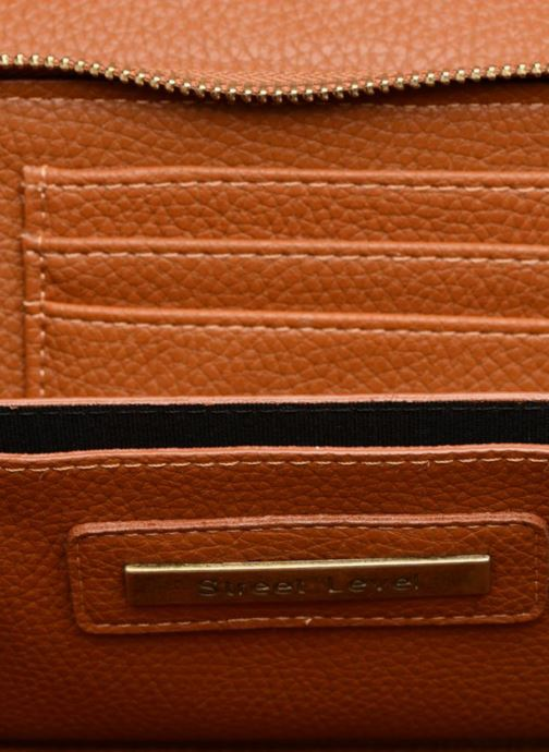Handtassen Street Level Brown mini purse Bruin achterkant